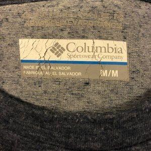 Columbia Shirts - Columbia Solid Grey Omni-Wick T-Shirt M